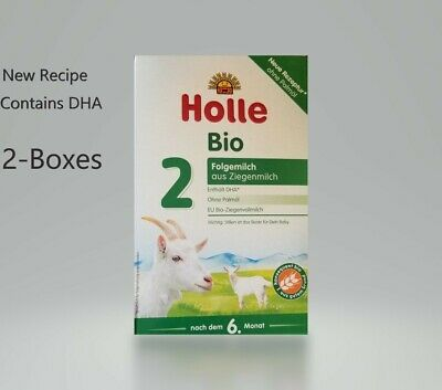Holle Organic Goat Milk Formula Stage 2 400g FREE SHIPPING 2 BOXES 2/2019