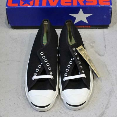 81bdb10981d9 1980S CONVERSE JACK PURCELL WHITE CANVAS CLASSIC SNEAKERS USA Sz 8.5 ...