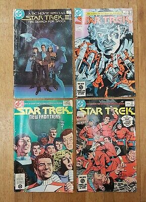 Job Lot Of DC Star Trek Comics III Search For Spock Movie Special 1983 84 85
