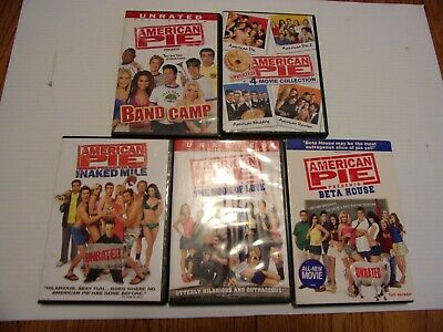 American Pie 1-8 The Complete Series Dvd Lot Of All 8 Films