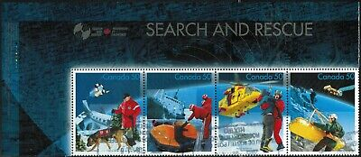 Canada Sc#2111i Search And Rescue, Strip of 4, English Header, Used