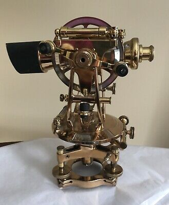 Antique Theodolite COOKE, TROUGHTON & SIMMS LTD London New York