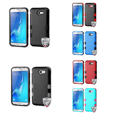 For Samsung Galaxy Halo, J7 Prime TUFF Hybrid Phone Protector Case Cover