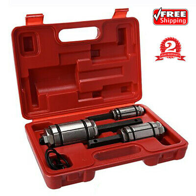 Set Of 3 Car Vehicle Tail Pipe Expander Kit Exhaust Muffler Spreader Tools +Case