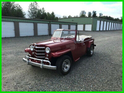 1951 Willys Jeepster 1951 Willys Jeepster,302ci V8,3-Speed Automatic,AM Radio, Convertible,Vinyl Int.