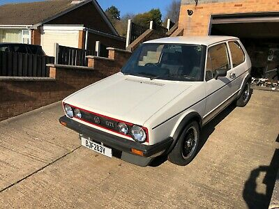Mk1 Golf Gti 1.6 rare 1.8 engine fitted