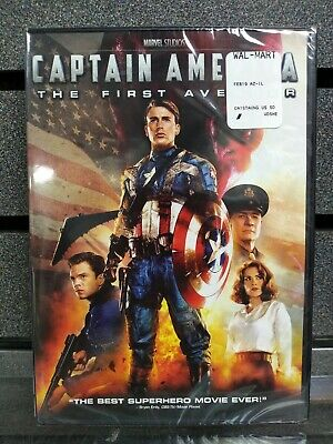 Captain America | The First Avenger | DVD | NEW | Ships Fast