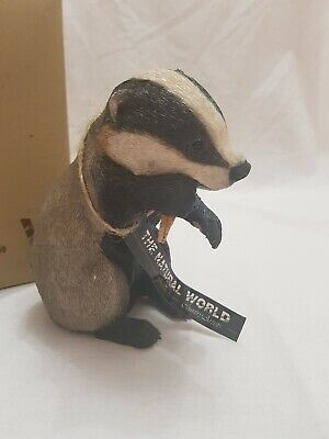 Country Artists The Natural World Badger Cub Distinctive