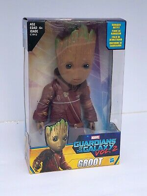 """GUARDIANS of the GALAXY Vol 2 Baby GROOT Ravager Outfit MARVEL 10"""" Action Figure"""