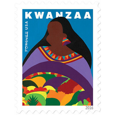 USPS New Kwanzaa pane of 20