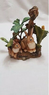 Country Artists Natural World Rabbits Figurine