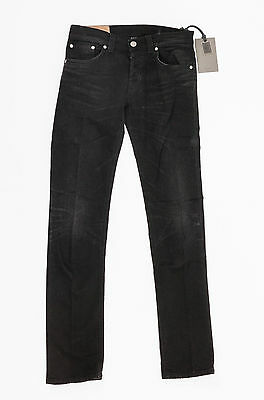 f765fb2ca1 JEANS DONDUP UOMO Lucky 44 modello UP092 denim blu scuro slim nuovo ...