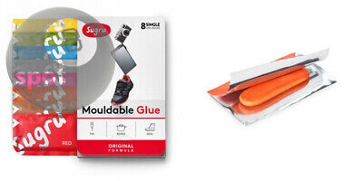 Sugru Moldable Glue (Fix Bond Seal) Original Formula 8 Colorful 5g Sticks/Pack