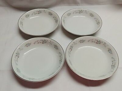 carlton corsage 481 set of 4 salad soup bowls