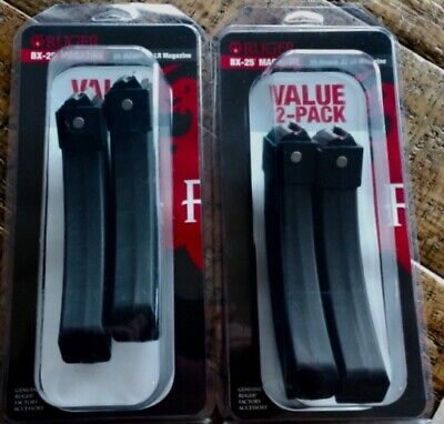 Ruger BX-25 10/22 x4 Magazines