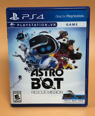 Astro Bot: Rescue Mission (PlayStation PS4 VR, 2018)