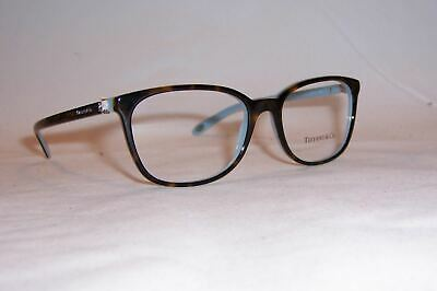 083cf59ba48 New Tiffany   Co Eyeglass Tf 2109Hb 8134 53Mm Havana Blue Rx Authentic 2109