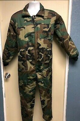 Kids Camouflage Insulated Coveralls Boys Winter Camo Overalls Warm 7013 Rothco
