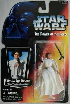 POTF2 Princess Leia 2-band belt Loose Star Wars Power Force NM from Red Card