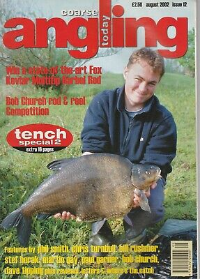 Coarse Angling Today fishing magazine August 2002 No.12
