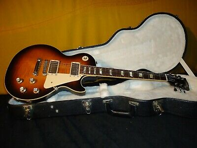 Nice 2008 GIBSON LES PAUL Standard Tobacco Sunburst FLAME TOP with OHSC