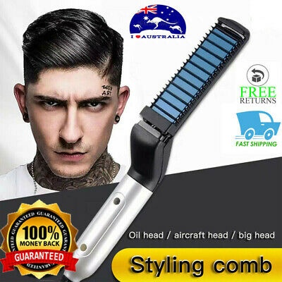 Beard Straightening Comb -MediFit Show Cap Men FREE SHIPPING NEW