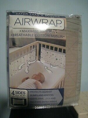 AIRWRAP 4 sided cot bumper