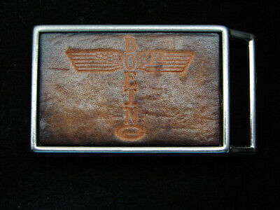 RC13110 VINTAGE 1970s **BOEING** AIRCRAFT COMPANY BELT BUCKLE