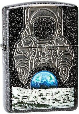 ZIPPO Collectible 50th Anniversary Moon Landing Star Background Astronaut 29862