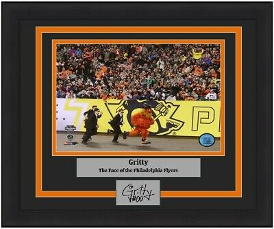 a5499b06f88 Flyers Gritty Hockey Mascot Stadium Series 8x10 Photo Picture Laser  Autograph