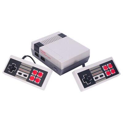 Mini Vintage Retro TV Game Console Classic 600 Built-in Games with 2 Controllers