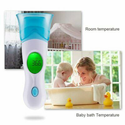 Adults Baby Kids Electronic Digital Thermometer Ir Infrared Ear Underarm Infants