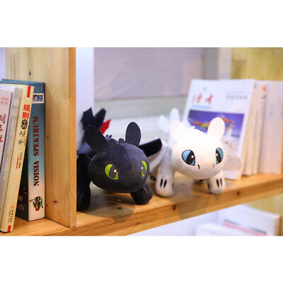 How To Train Your Dragon 3 Night Fury Toothless Light Fury Soft Plush Doll Toy