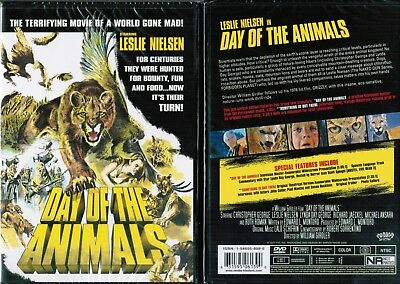 Day Of Animals New DVD From Shriek Show Horror Sci Fi Leslie Nielsen Unrated