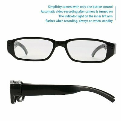 720P HD Camera Eyewear Wide Angle Lens Mini Real Time Recorder Camcorders☟✌