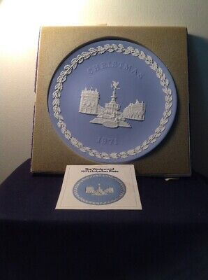 Vintage Collectable 1971 Wedgwood Christmas Plate