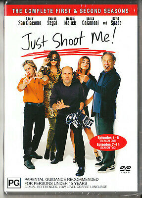 Just Shoot Me-Season 1-2 Dvd=2 Disc Set=Region 4 Aust Release=New And Sealed