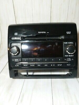 14 15 16 17 18 19 Toyota TACOMA Touch-Screen Radio CD player Factory