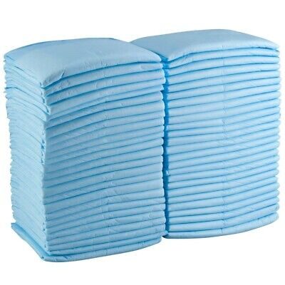 100 MAX ABSORBENT UNDERPADS Adult Urinary Incontinence Disposable Bed Pee 23x36