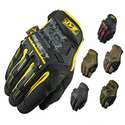 Tactical Mechanic Wear Gloves Mens Army Military Assault SAS Cadets Special Ops