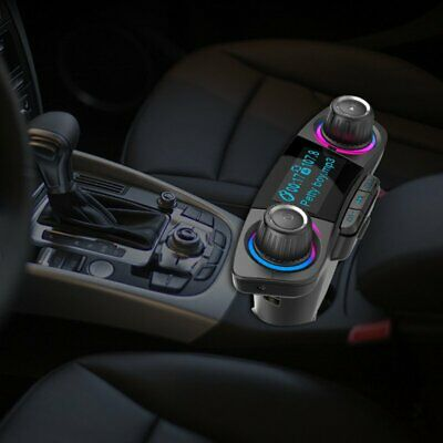 Bluetooth Handsfree Car Transmitter Modulator Aux Audio USB Music Player EU
