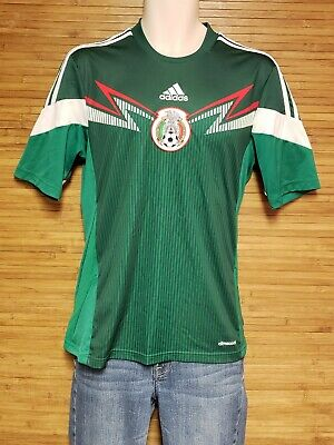 1c070ec50 Adidas Climacool Green Mexico Futbol Soccer Jersey Mens Size Small S