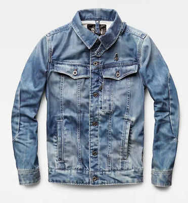 7547c29468b G-STAR RAW OCCOTIS 3301 3D Slim Jacket, Medium Aged, XL - EUR 145,01 |  PicClick FR