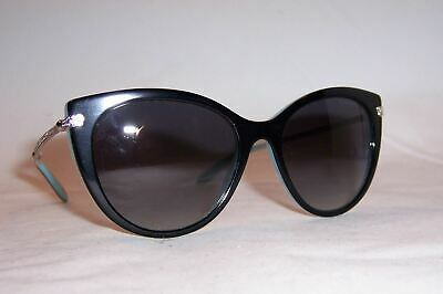 72cf30203f13 New Tiffany   Co Sunglasses Tf 4143B 80553C Black Blue gray Authentic 4143