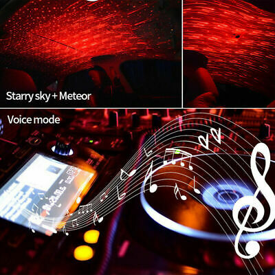 Hot Sale-Car Atmosphere Lamp Interior Ambient Star Light -- Free Shipping