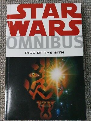 Star Wars Omnibus Rise of the Sith Dark Horse VG