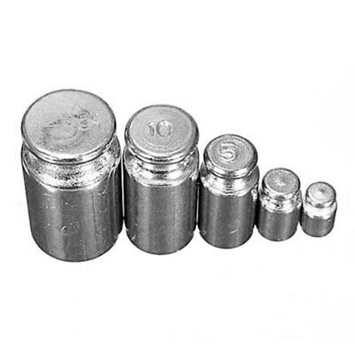 1g 2g 5g 10g 20g Gram Precision Chrome Calibration Scale Weight Balance Test Set
