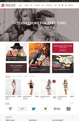 Professional Online Store Ecommerce Website - Multi Vendors