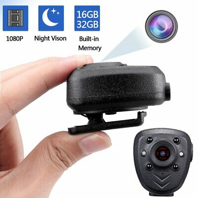 Body Video Recorder Integrated camera with 360 degree rotating clip☟✌