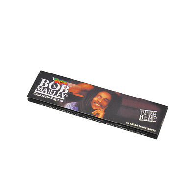 1 PCS BOB MARLEY King Size Rolling Paper 110mm Pure Hemp Cigarette Smoking Paper